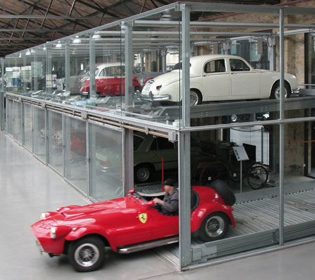 Classic Remise, Berlin allows you to view some of the world's most iconic cars