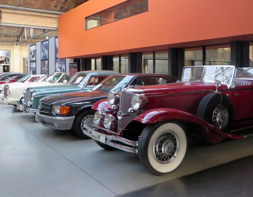 Sightseeing with a difference in Berlin: Classic Remise and its ...