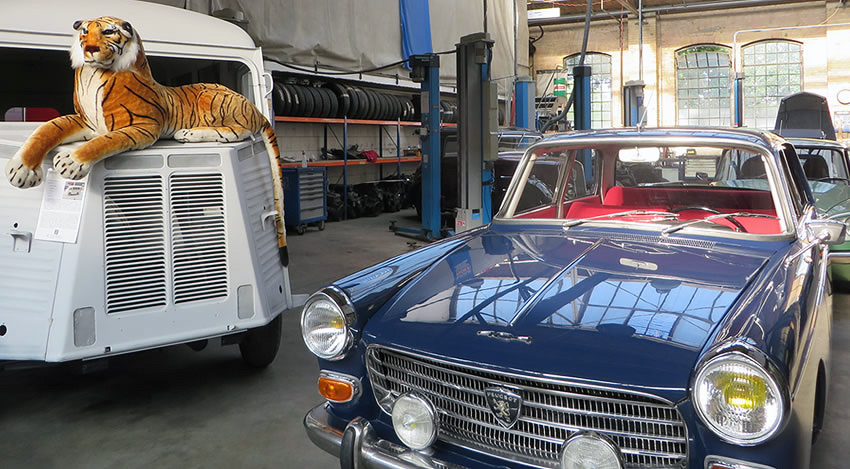 Specialist workshops for iconic cars at Berlin's Classic Remise