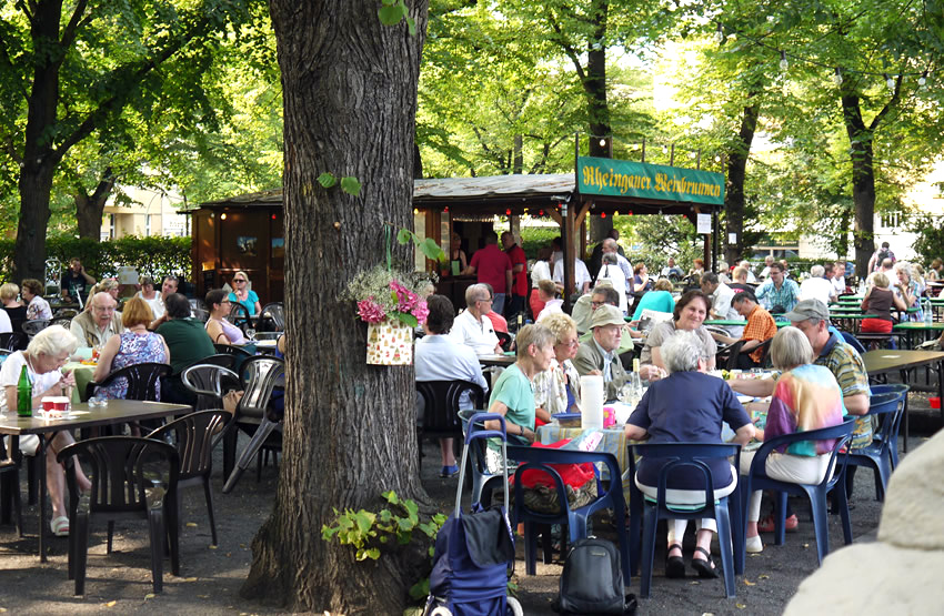 Summer barbecue areas in berlin's parks