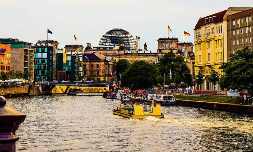 Berlin summer sights and attractions