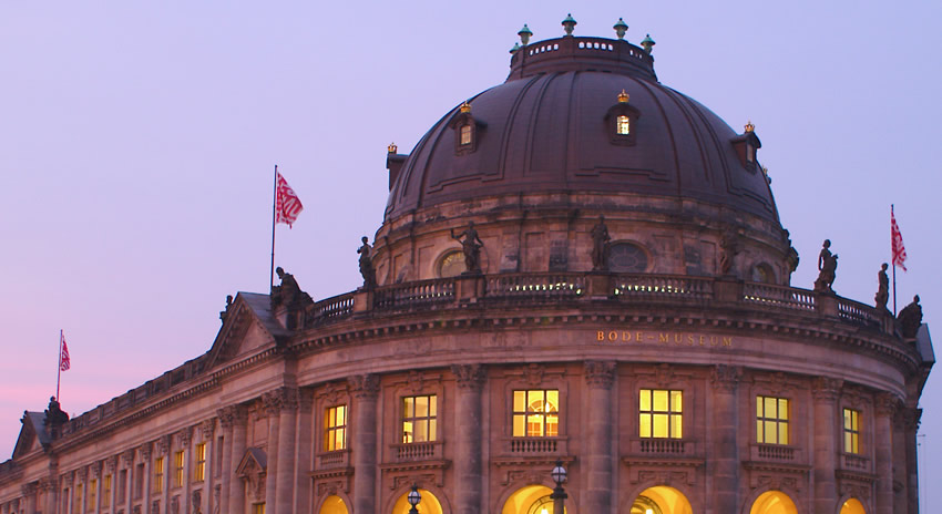 Bode Museum Berlin, where in summer you can enjoy free classical concerts