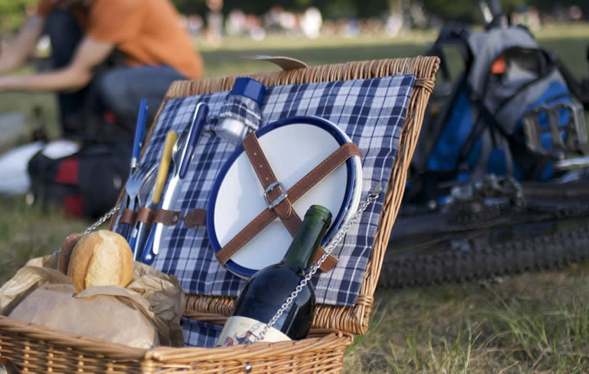 Picnic baskets for hire in Berlin