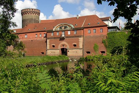 Spandau Citadel, Berlin, where you'll find one of the city's quirkiest bat attractions!