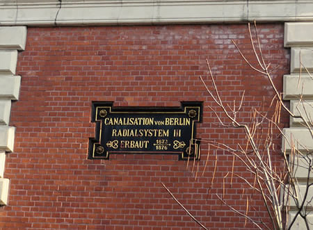 Berlin's 19th century drainage and water pumping systems - Kreuzberg