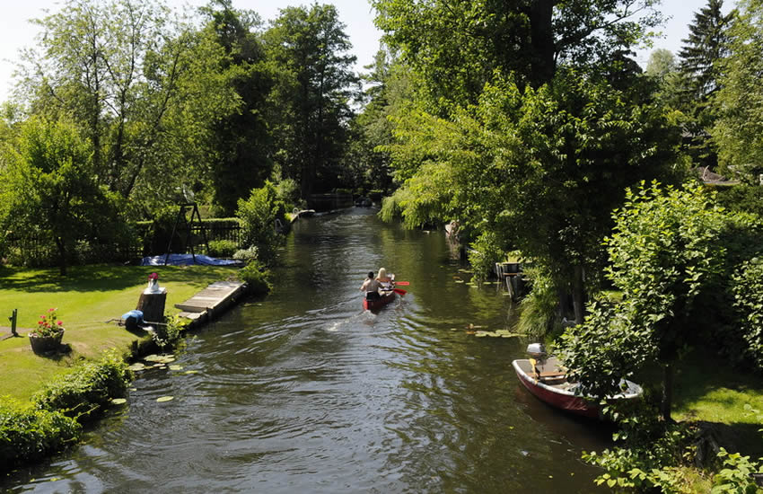New Venice or Neu Venediq - an oasis of canals on the borders of Berlin