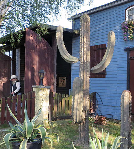 American Wild West in Berlin: the Old Texas Town cowboy club headquarters