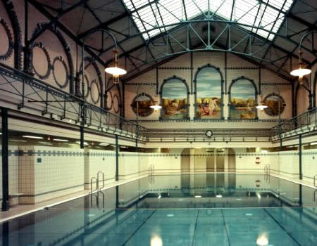 Berlin's stunning historic public swimming pools