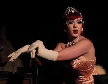 Burlesque and '20s style glamour in a decadent Kreuzberg bar
