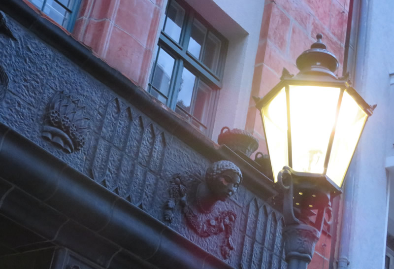 Berlin gas lamps