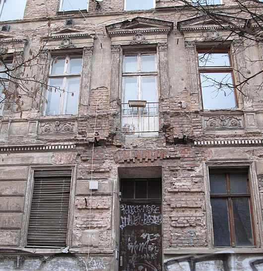 War damaged building, East Berlin
