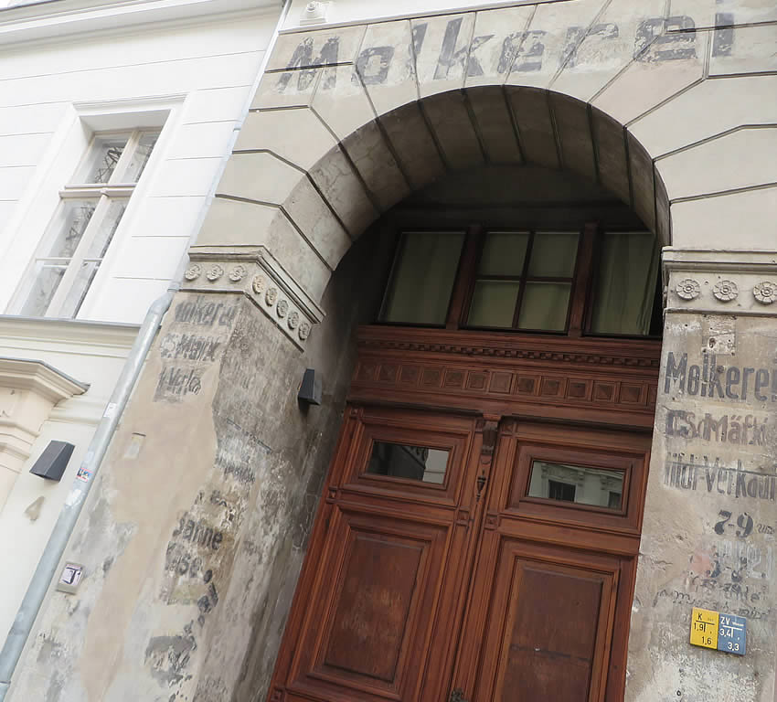 This residence in Prenzlauer Berg was once a 'Molkerei', or Dairy