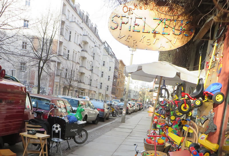 Onkel Philipp: a beloved Prenzlauer Berg, Berlin toyshop with a secret museum in the basement