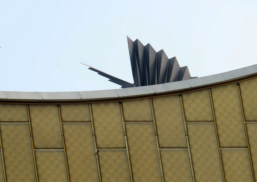 Phoenix sculpture, Berlin Philharmonie