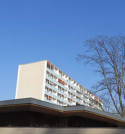 Berlin's 'Interbau' architectural complex