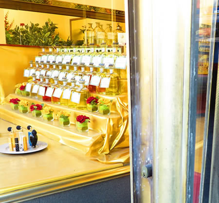 Harry Lehmann, Charlottenburg, Berlin. Scent by weightBrimming shelves at one of Europe's best Delicatessen food halls