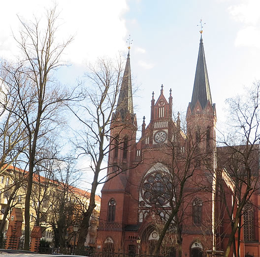 Catholic church, Berlin, Moabit