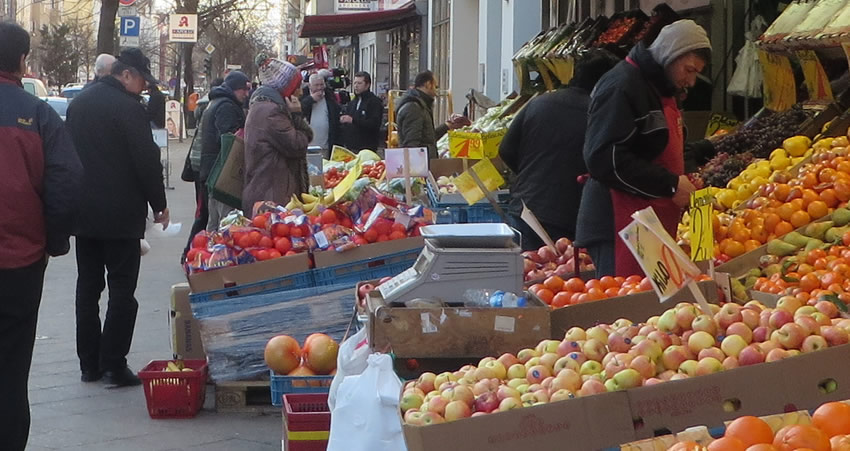 A fruit stall in Berlin's Moabit
