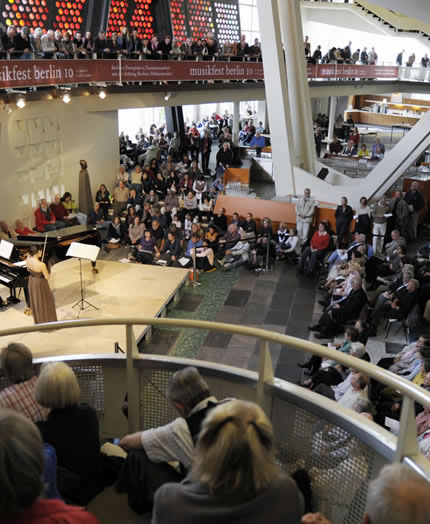 Free concerts at the Berlin Philharmonie