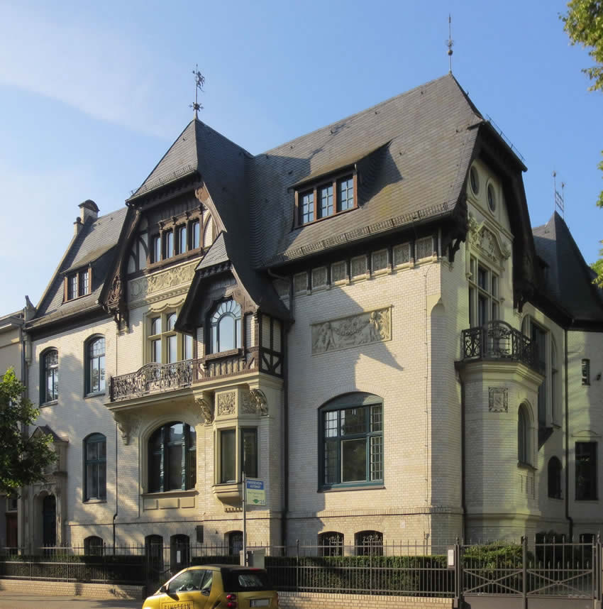 Berlin architecture: the Haus Fromberg
