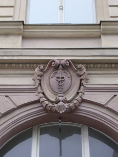 Architectural detail, Wallstrasse, Berlin